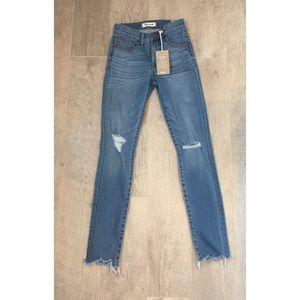 "NWT Madewell 9"" High Rise Skinny Jean Size 23"